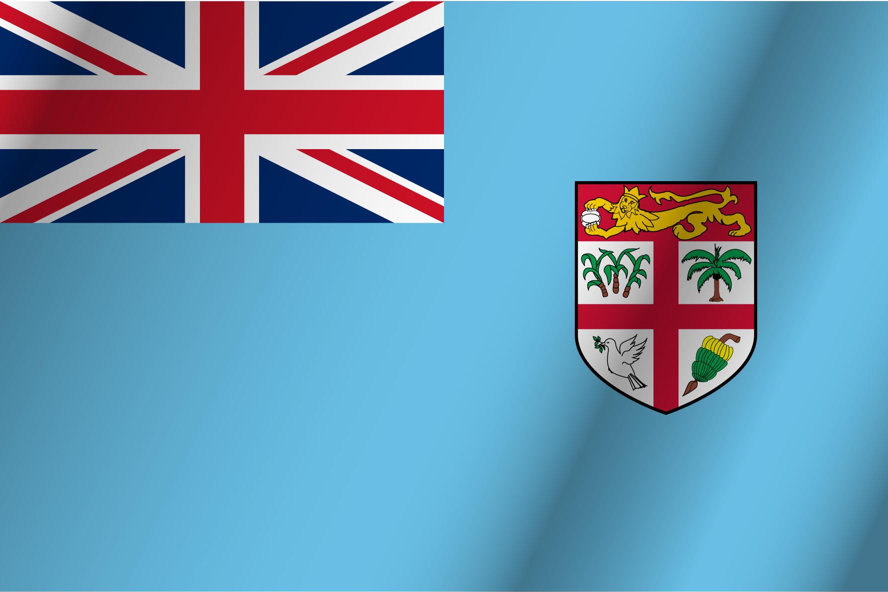 bandera roja blanca y azul horizontal con escudo