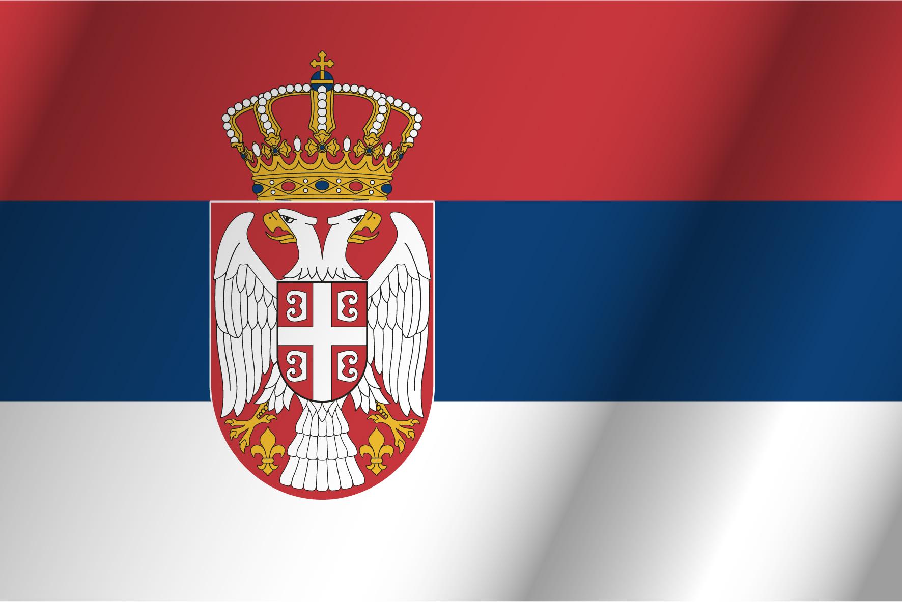Blanco paises azul y bandera roja