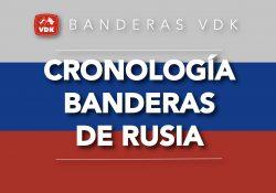 Cronología Banderas de Rusia