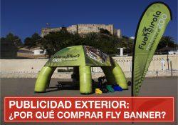 Por qué comprar fly banner personalizados para hacer publicidad
