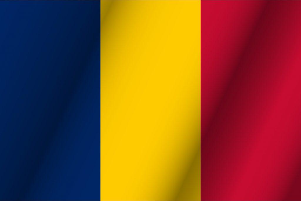 bandera color azul amarillo y rojo