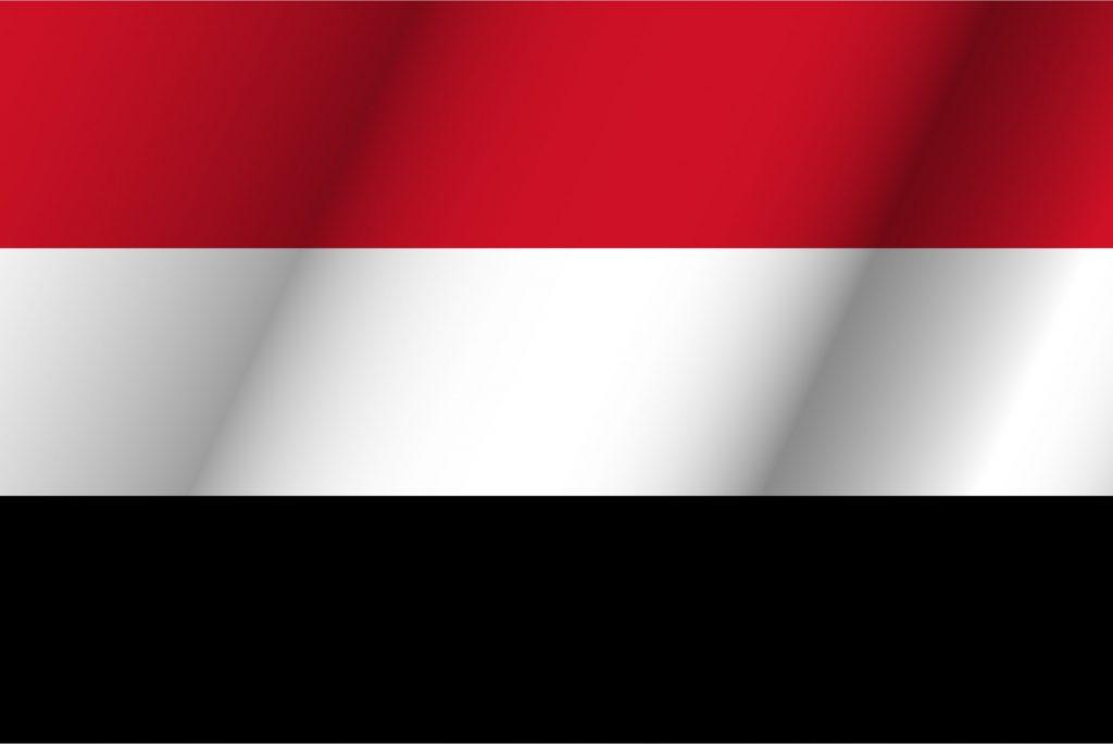 bandera de color azul amarillo y negro