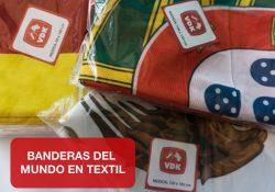 banderas mundo textil