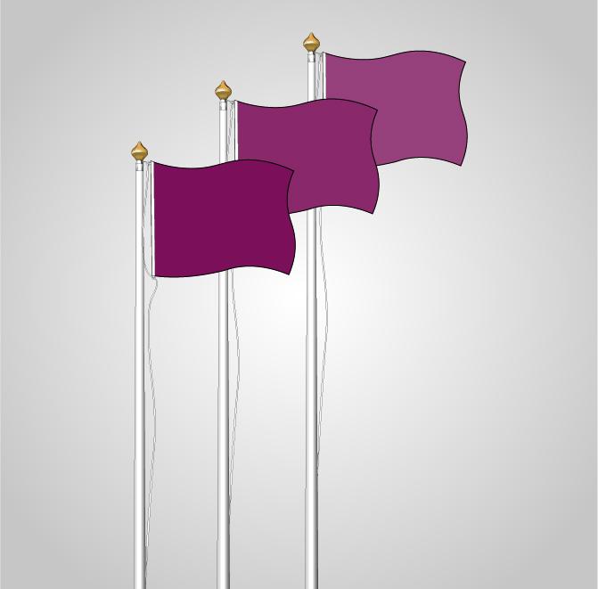 banderas horizontales