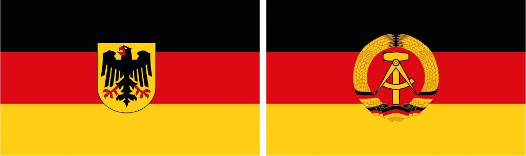 Banderas Reunificación Alemana