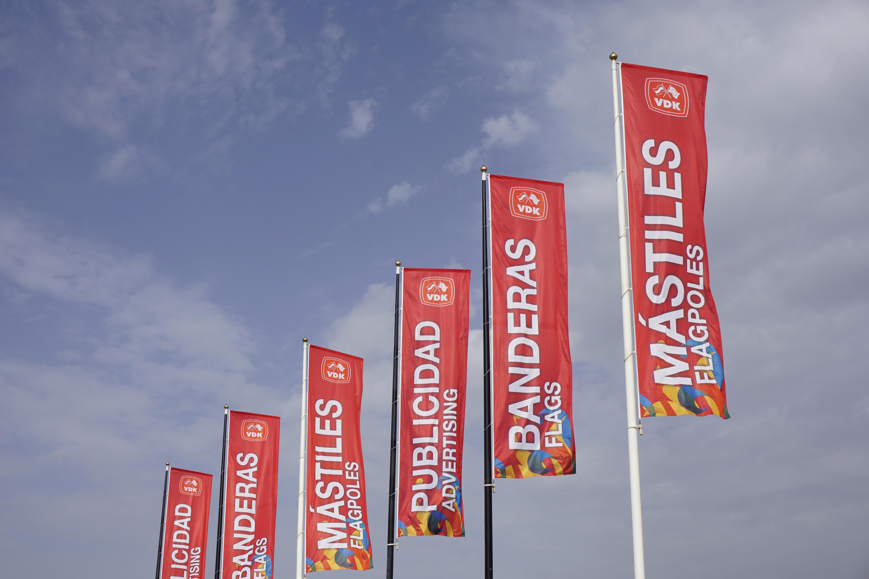 banderas vdk montaje 6 unidades