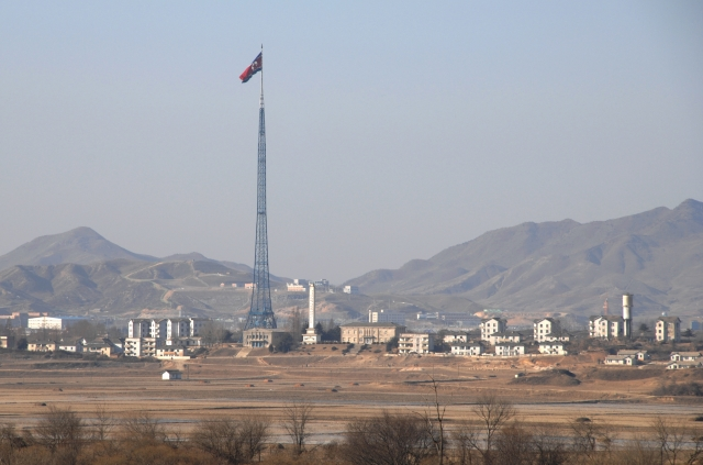 Mast of North Korea