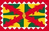 Bandera de sobremesa de Huesca