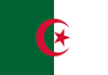 Bandera de sobremesa de Argelia