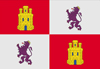 Bandera de sobremesa de Castilla León
