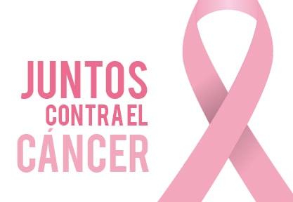 Bandera de juntos contra el cáncer