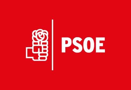 Bandera de PSOE Roja