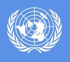 Bandera de Bandera ONU