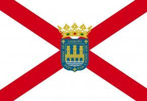 Bandera de Logroño