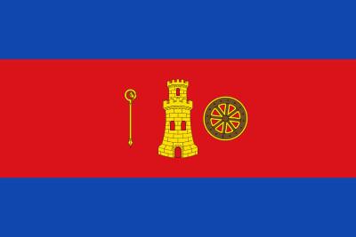 Bandera de Alborge