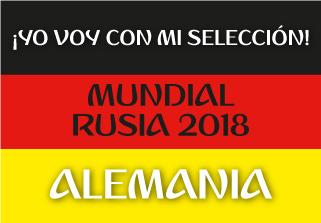 Bandera de Alemania Mundial 2018