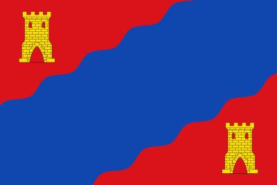 Bandera de Alhama de Aragón