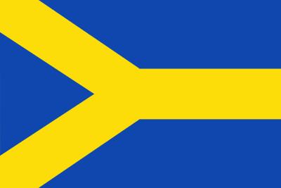 Bandera de Almonacid de la Cuba
