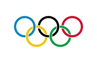 Bandera de Anillos Olímpicos