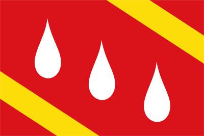 Bandera de Aranda de Moncayo