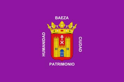 Bandera de Baeza