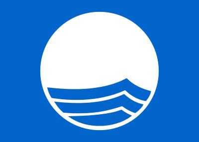 Bandera de Bandera azul (playas y puertos)