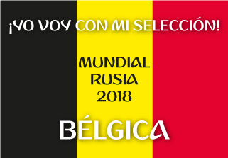 Bandera de Bélgica Mundial 2018