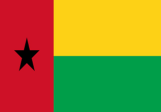 Bandera de Bisáu
