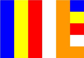 Bandera de Budista