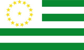 Bandera de Caquetá (Colombia)