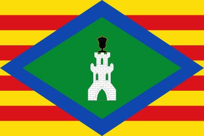 Bandera de Castejón de Alarba