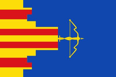 Bandera de Castejón de las Armas