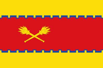 Bandera de Cetina (Zaragoza)