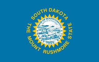 Bandera de Dakota del Sur