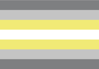Bandera de Demigénero