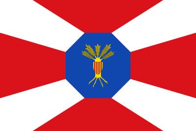 Bandera de El Frasno
