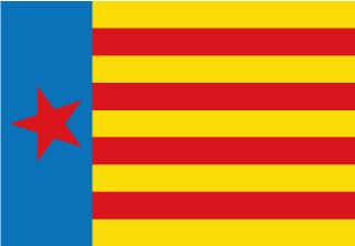 Bandera de Estelada Esquerra