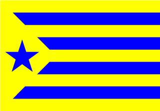 Bandera de Estelada Palamos