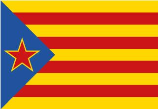 Bandera de Estelada Socorro Catalán