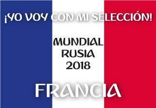 Bandera de Francia Mundial 2018