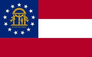Bandera de Georgia (EEUU)