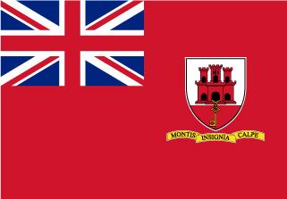 Bandera de Gibraltar Civil
