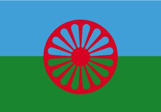 Bandera de Gitana