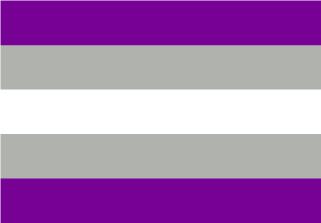 Bandera de Grisasexual