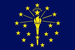 Bandera de Indiana