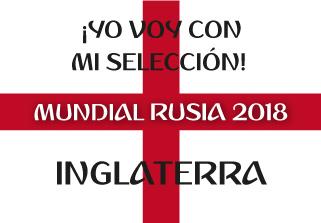 Bandera de Inglaterra Mundial 2018