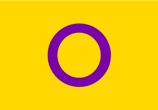 Bandera de Intersexual