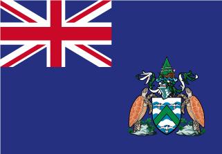 Bandera de Isla Ascensión