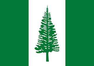Bandera de Isla de Norfolk