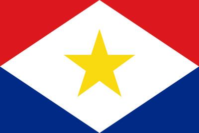 Bandera de Isla de Saba